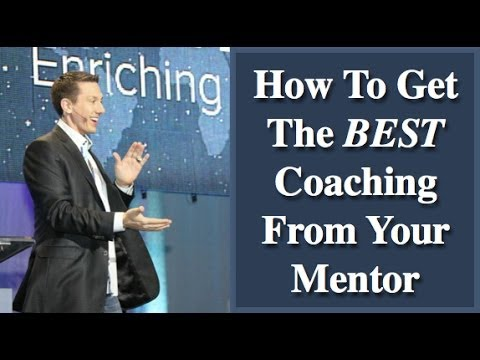 How To Get The Best Coaching From Your Mentor