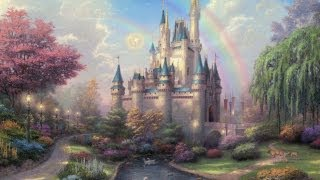 Beautiful Fairytale Music Castle In The Clouds