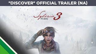 """Syberia 3 - """"Discover"""" Trailer"""