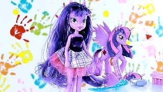 Twilight Sparkle + Kucyk Equestria Girls My Little