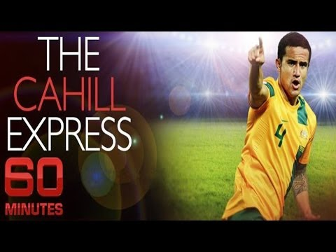 Tim Cahill Interview | 60 Minutes | The Cahill Express