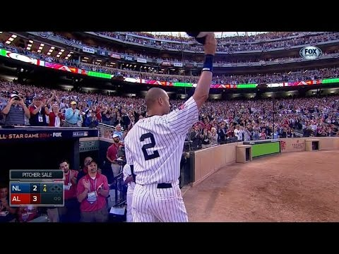 2014 ASG: Jeter gets two hits in final All-Star Game