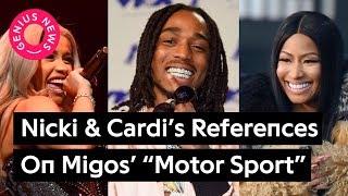 """Nicki Minaj & Cardi B's References On Migos' """"Motor Sport""""   Genius News"""