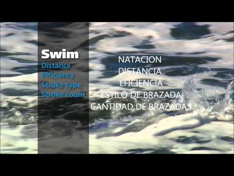 Universogym Garmin Forerunner 910XT en español  - You Tube