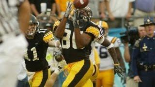 """Iowa Hawkeyes """"The Catch"""" 2005 Capital One Bowl Drew"""