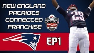 Madden NFL 25 PS4 Connected Franchise: New England