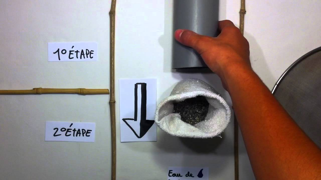 filtrer l 39 eau de pluie recyclage et r utilisation youtube. Black Bedroom Furniture Sets. Home Design Ideas