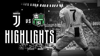 HIGHLIGHTS: Juventus vs Sassuolo - 2-1 - Serie A - 16.09.2018 | Ronaldo's first goals!