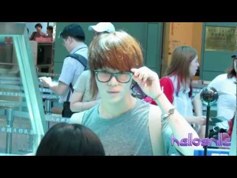 120917 SHINee Departure@Taiwan Taoyuan International Airport Part 1/2