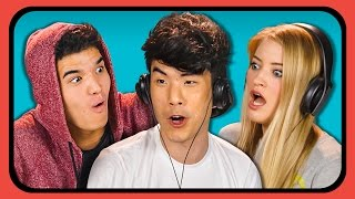 YOUTUBERS REACT TO SATISFYING SLIME VIDEOS COMPILATION
