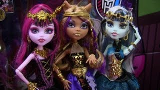 Monster High 13 Wishes Haunt The Casbah Clawdeen Frankie