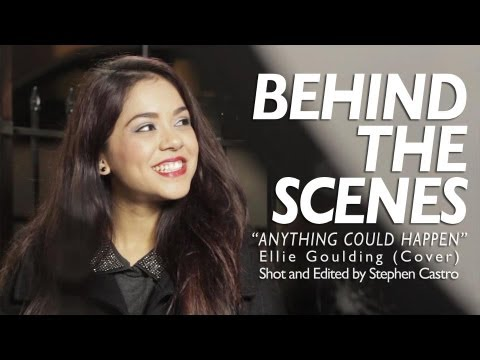 Behind The Scenes of Anything Could Happen Cover Music Video Shoot - Alyssa Bernal