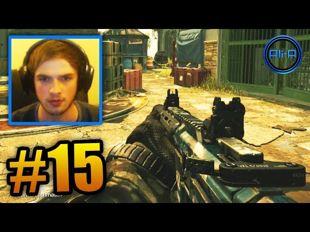 """WHAT YOU DOING?"" - COD GHOSTS LIVE w/ Ali-A #15 - (Call of Duty Ghost Gameplay)"