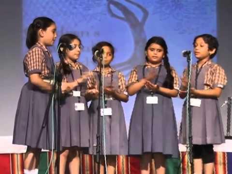 Prayer Song by Bhavan's Rajaji Vidyashram - Children's Musical Rhapsody 2013