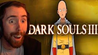 Asmongold Is BLOWN AWAY By Dark Souls 3 in 1 Hit Video