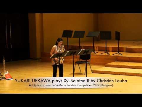 YUKARI UEKAWA plays Xyl Balafon II by Christian Lauba