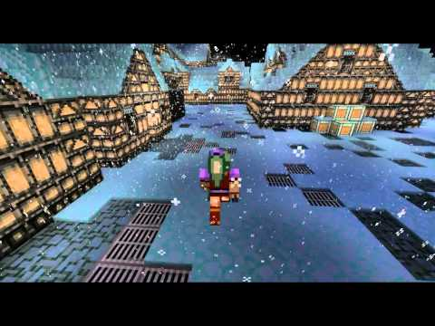 Final Fantasy 6 3D Narshe Minecraft