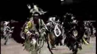 Pow Wow Mens Northern Traditional Old Video Part 1