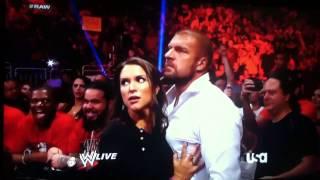 Big Show KO Randy Orton (New WWE CHAMP)
