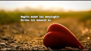 Safura - Dulu Sayang Kini Benci (Lirik)
