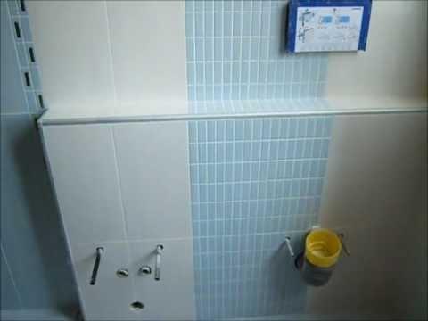Ristrutturazione bagno Moderno con piatto doccia mosaico in opera - YouTube