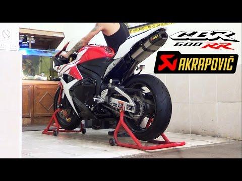 Honda CBR600RR 2012 Akrapovic Carbon Titanium Full System istimewa