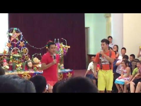 Tự Long - Xuân Bắc diễn ngày Tết thiếu nhi (5/9/2014)