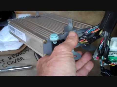 acura tl amplifier removal   youtube