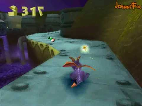 Spyro the Dragon -33- Gnasty Gnorc, FINAL BOSS TIME! I had several things to say about this, but there's nothing you wouldn't be able to pick up yourself. Is this the greatest boss fight ever, ...