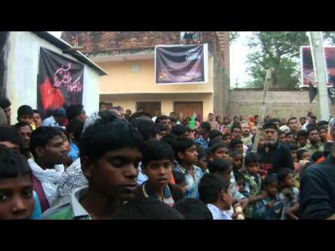 Manta Ghazipur U.P India Ashura  Muharram 2013- (1435) - :Aag/Zanjeer ka Matam