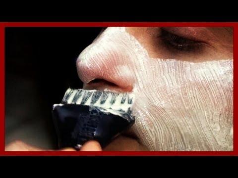 Turkish Wet Shave + Clay Treatment (in Ankara, Turkey) - YouTube