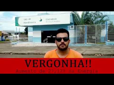 Morador de Rolim de Moura protesta contra aumento...