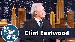 Clint Eastwood Impersonates Molly Shannon and Bonks Himself