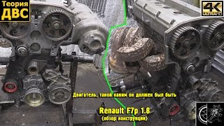 Двигатель, такой каким он должен был быть: Renault F7p 1.8 (обзор конструкции). Евгений Травников.