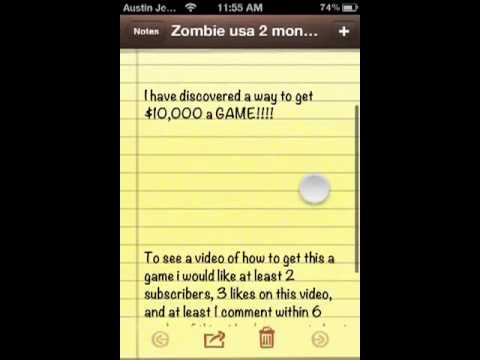 Zombieville Usa 2 Cheats