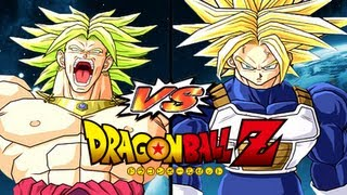 Dragon Ball Z: Broly VS Ultra Trunks (Dragon Ball Z