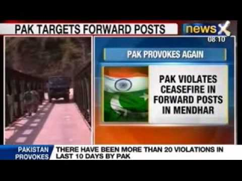 India vs Pakistan: More than 20 violations in the last 10 days by Pakistan
