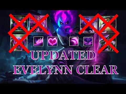 How to clear your jungle as REWORKED EVELYNN - League Of Legends Guide