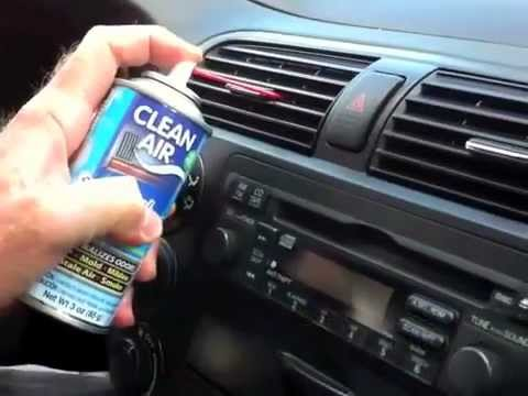 how to clean the ac drain nissan leaf