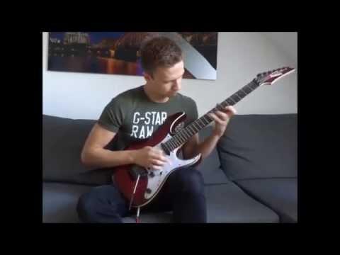 Buckethead - Jordan Solo Cover - Guitar Shred