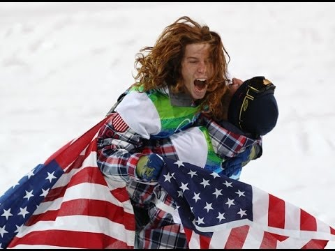 Shaun White half pipe Trick Collection! King of half-pipe Sochi Olympics!