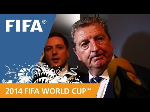 England's Roy HODGSON Final Draw reaction
