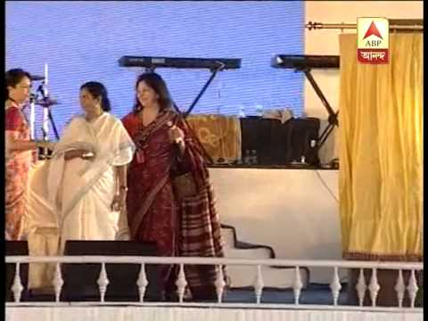 CM Mamata lays foundation stone of KMOMA project