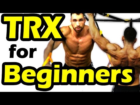 ★Top 7★ TRX Exercises for Beginners & Weight Loss at Home Workout for Men & Women abs, chest, legs
