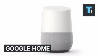 Google Home is the company's answer to the Amazon Echo