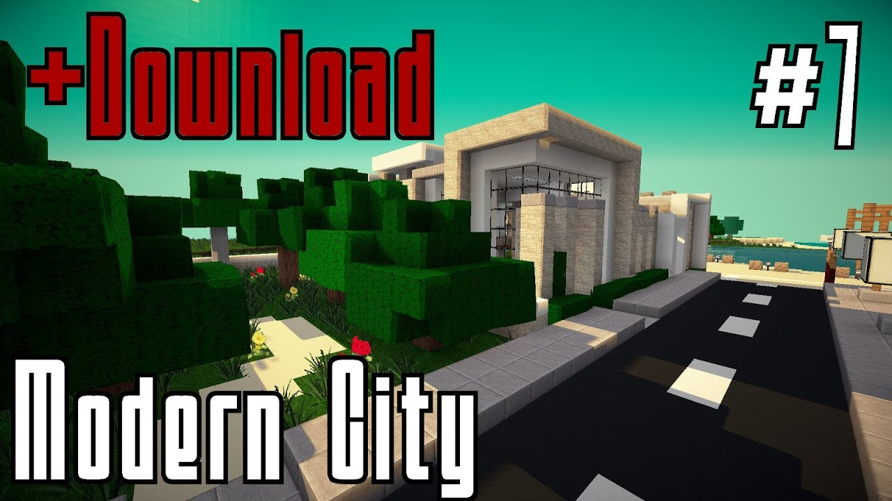 Minecraft modernes haus bauen 007 ende gut alles for Minecraft modernes haus 20x20