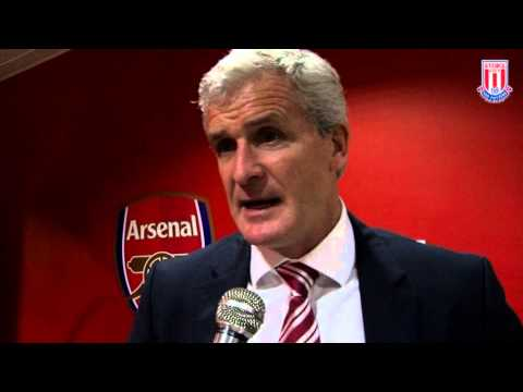 Hughes on Arsenal defeat + Arnautovic
