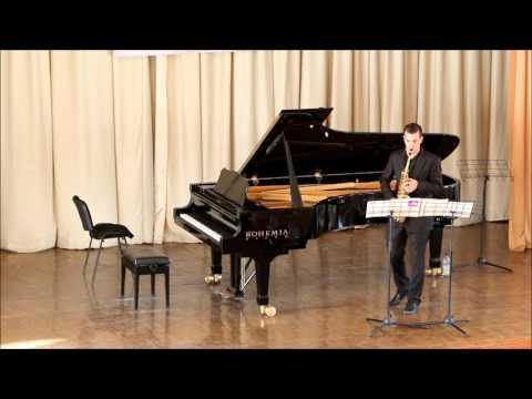 GOLDEN SAXOPHONE 2015. Philip Attard. Paul Bonneau «Caprice en forme de valse»