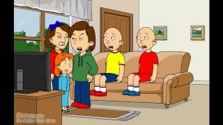 Caillou And Daillou Gets Grounded On Christmas