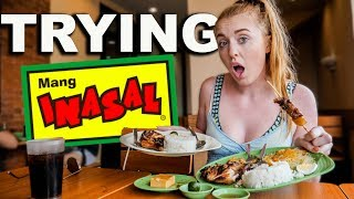 British Couple Try FILIPINO MANG INASAL for the First Time!